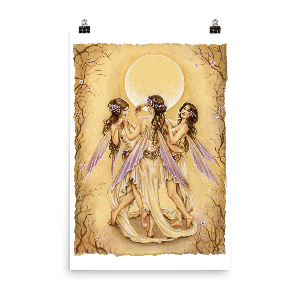 Art Print - Dance of the Graces