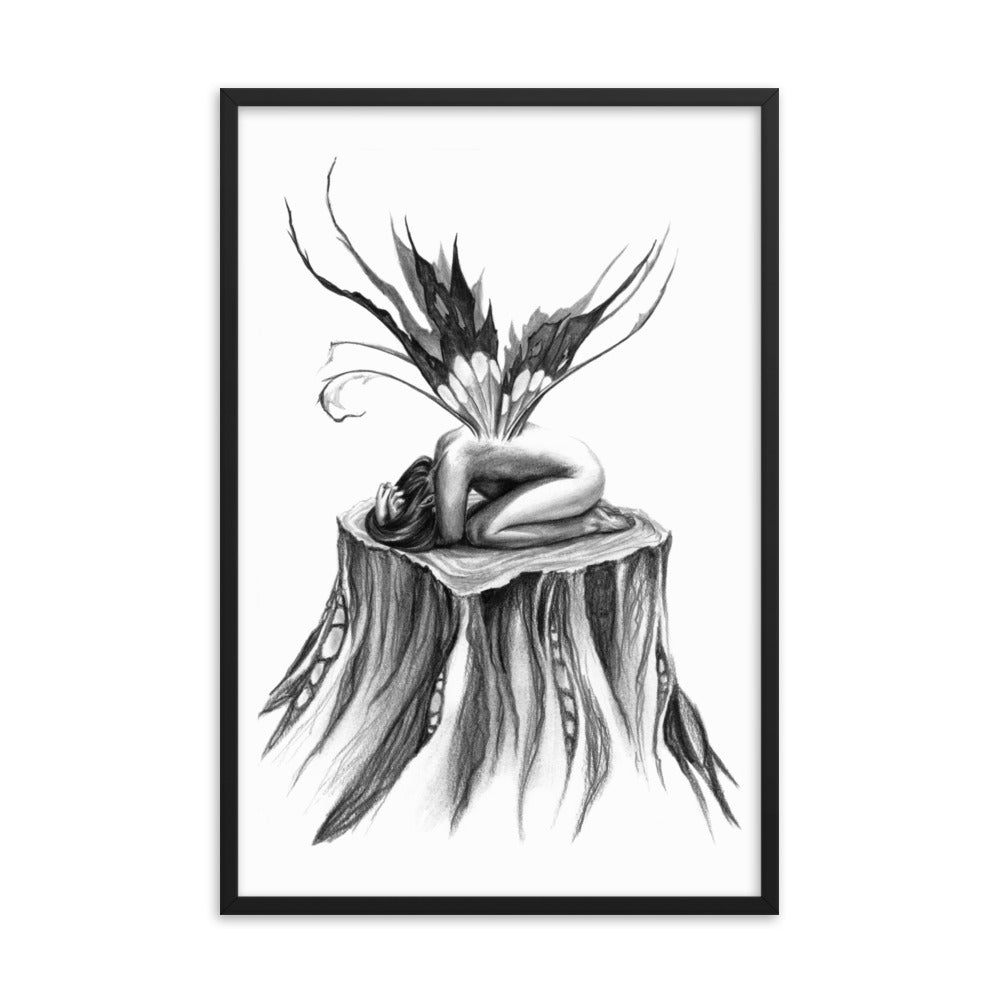Framed Print - Cry for Nature