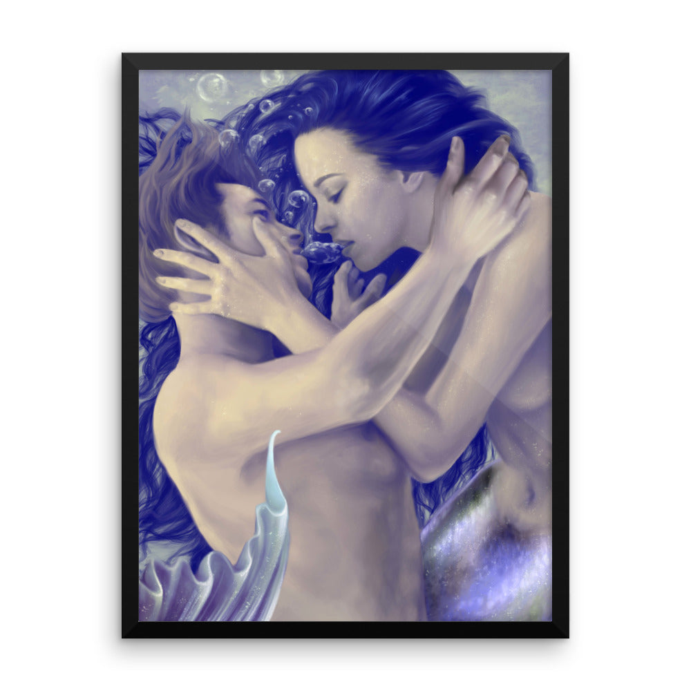 Framed Print - Breath