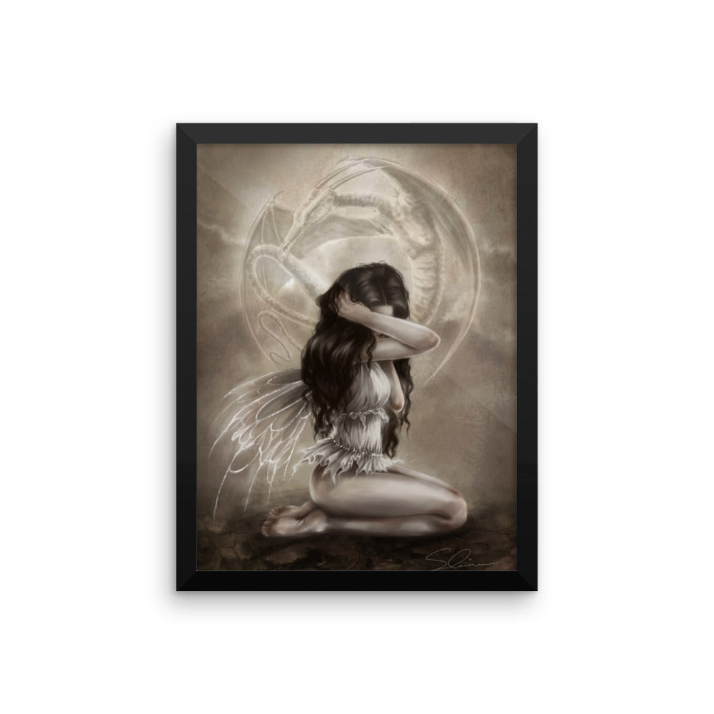 Framed Print - We Are Just Ghosts