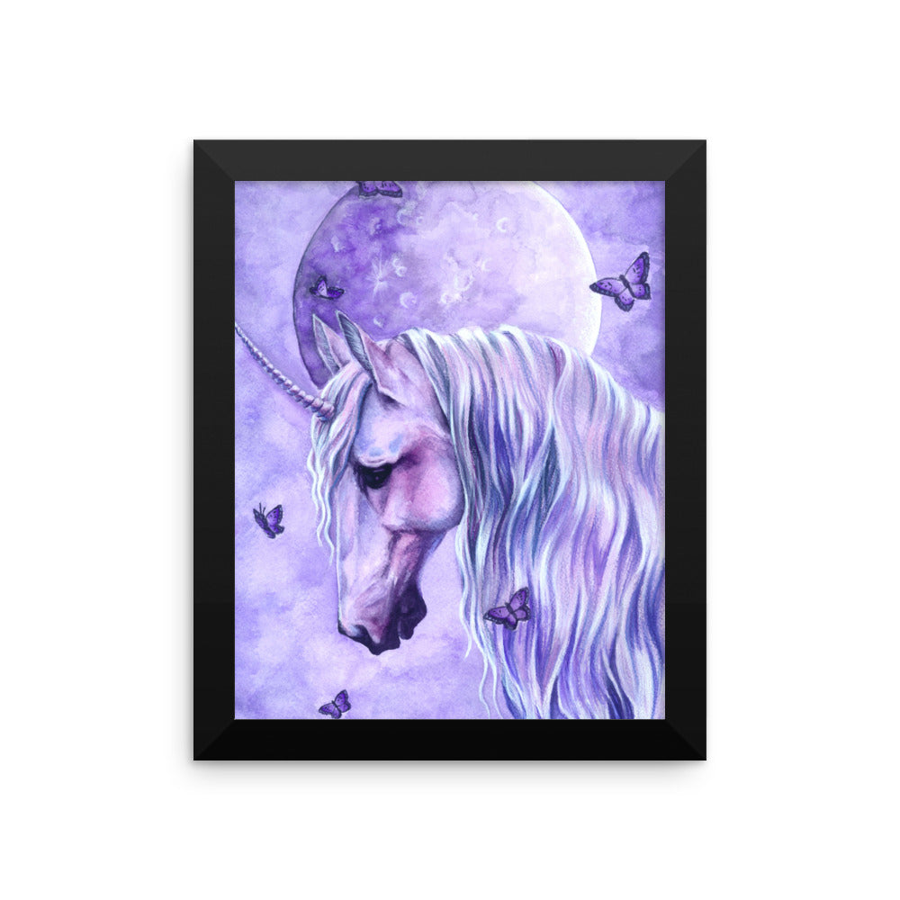 Framed Print - Moonlit Magic