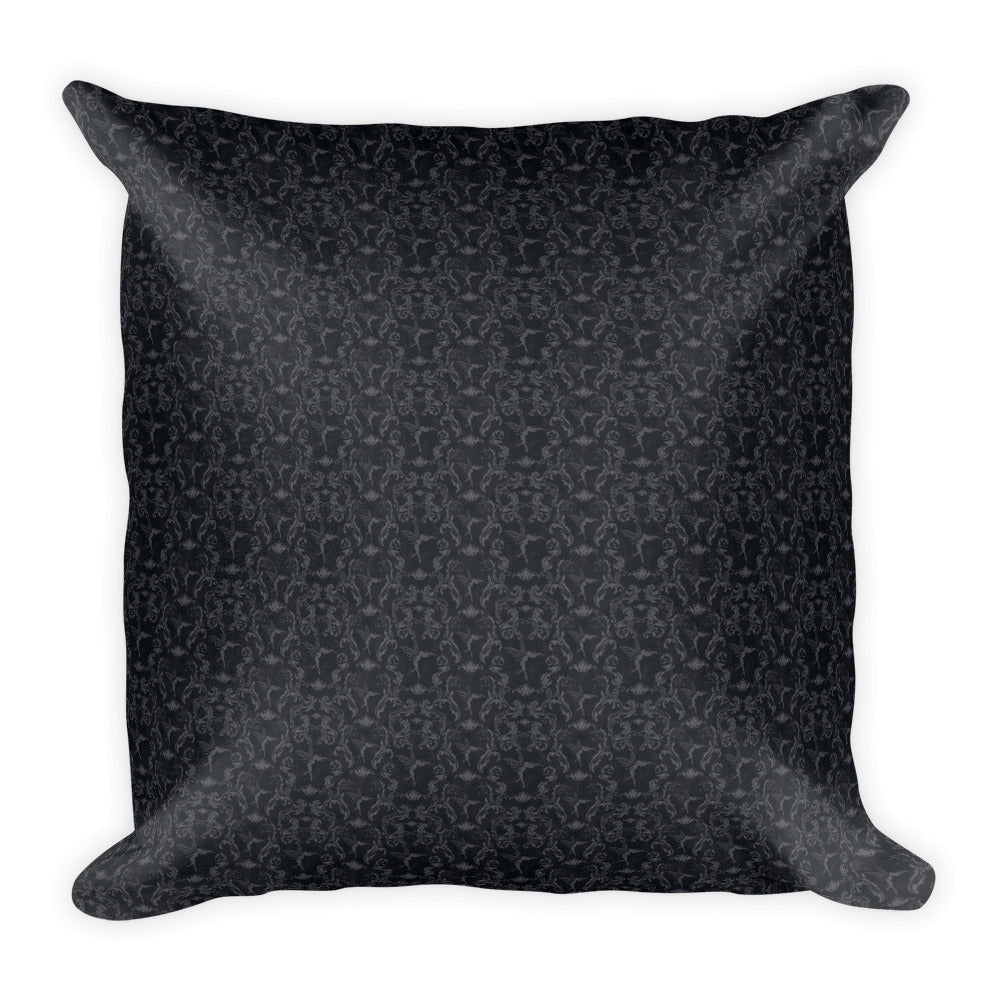 Square Pillow - Tell Me a Secret - colour your own