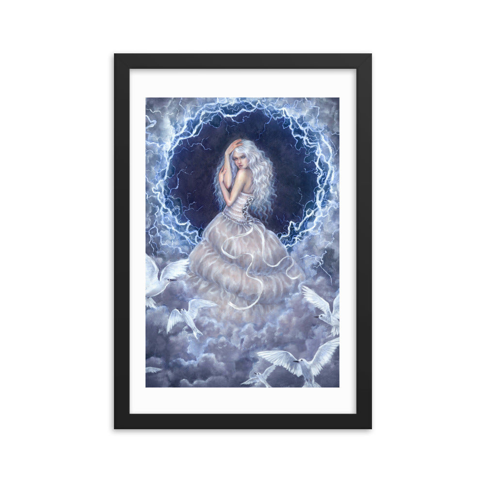 Framed Print - Eye of the Storm