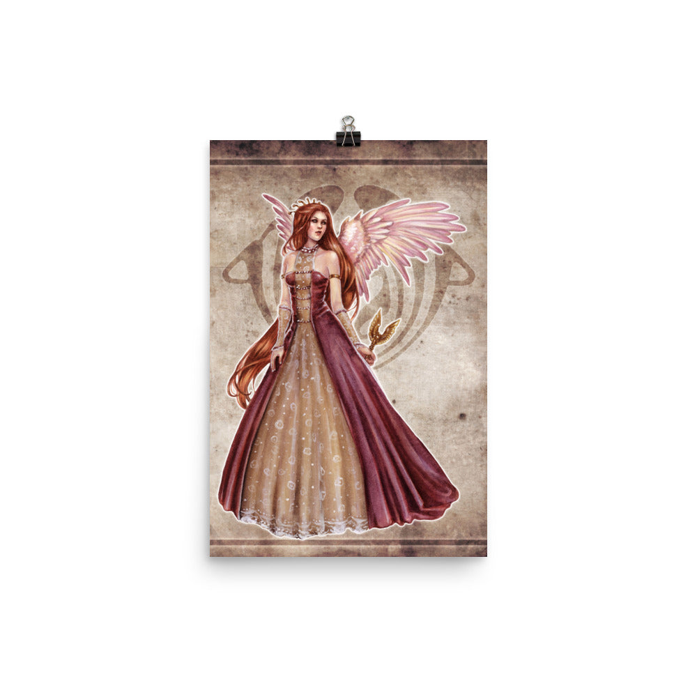 Art Print - Choirs Angel Angelina