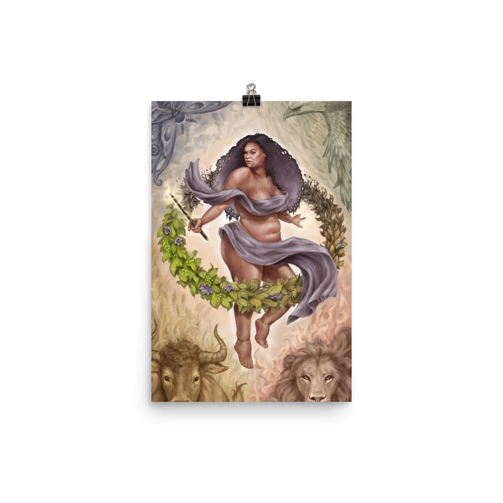 Art Print - The World - 78 Tarot