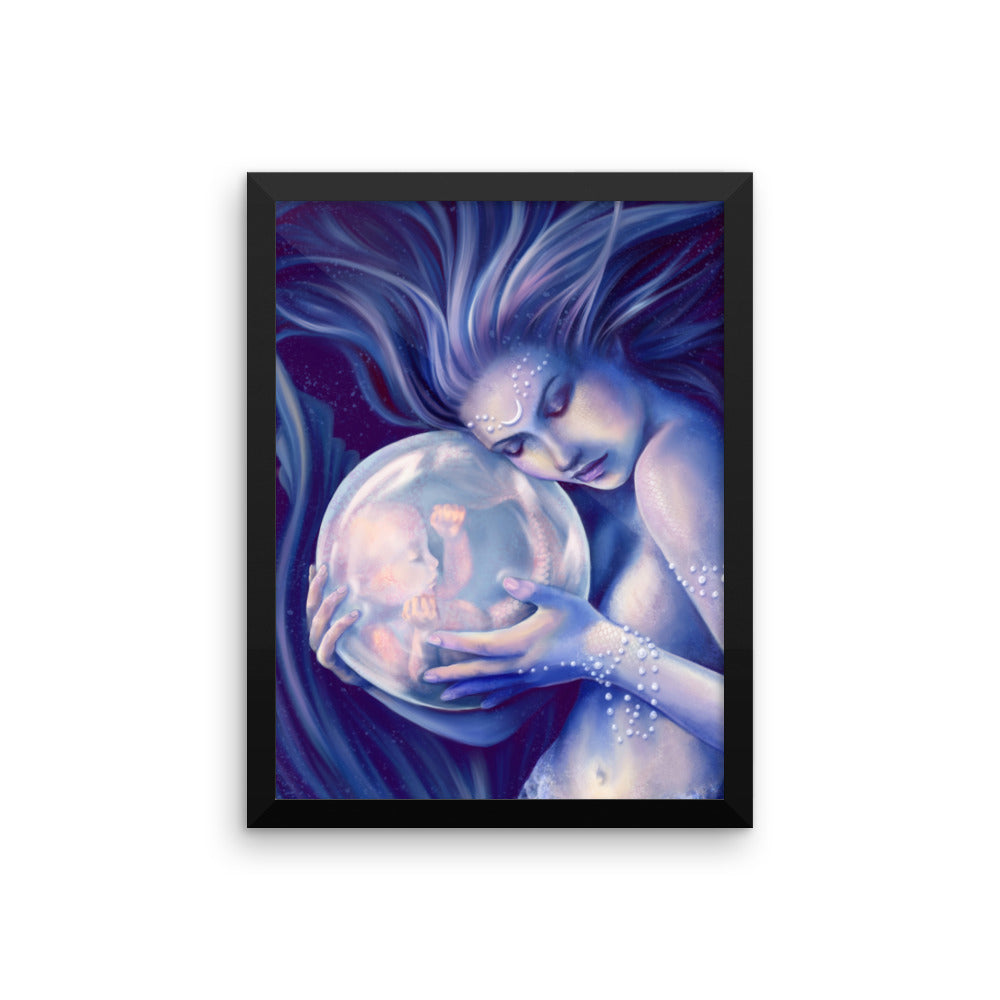 Framed Print - Moonborn