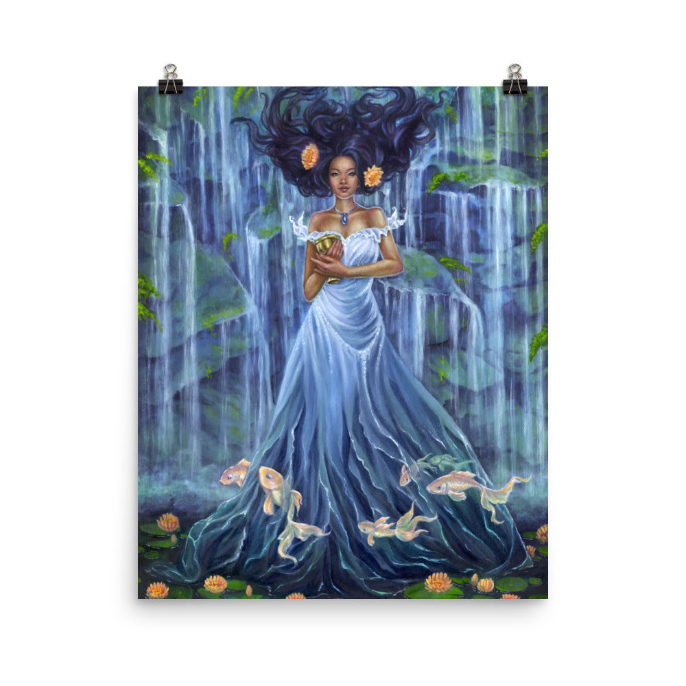 Art Print - Lady of Water