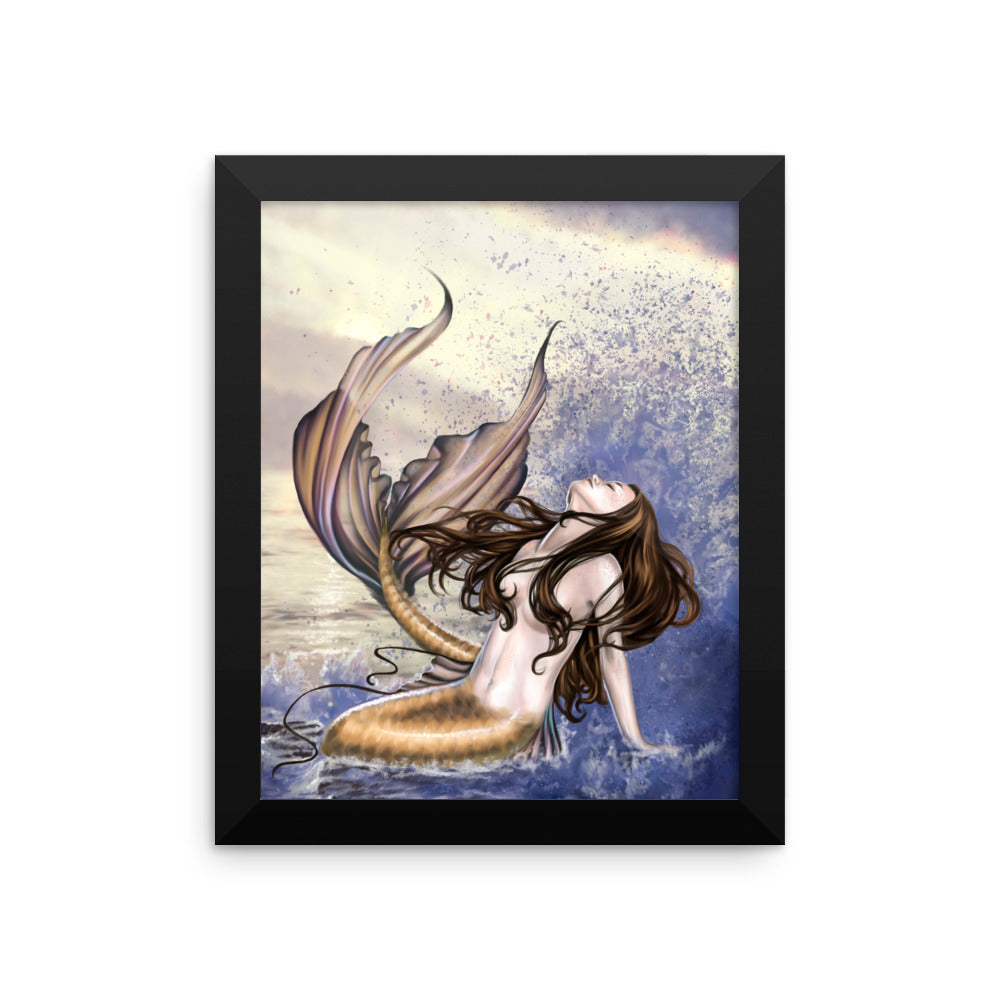 Framed Print - Wave of Power