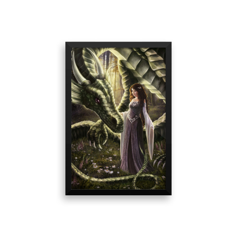 Framed Print - To Meet a Dragon