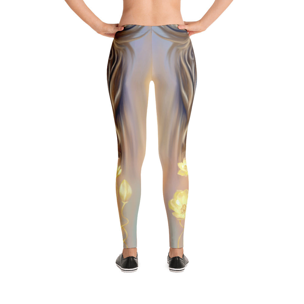 Leggings - Lion Lotus