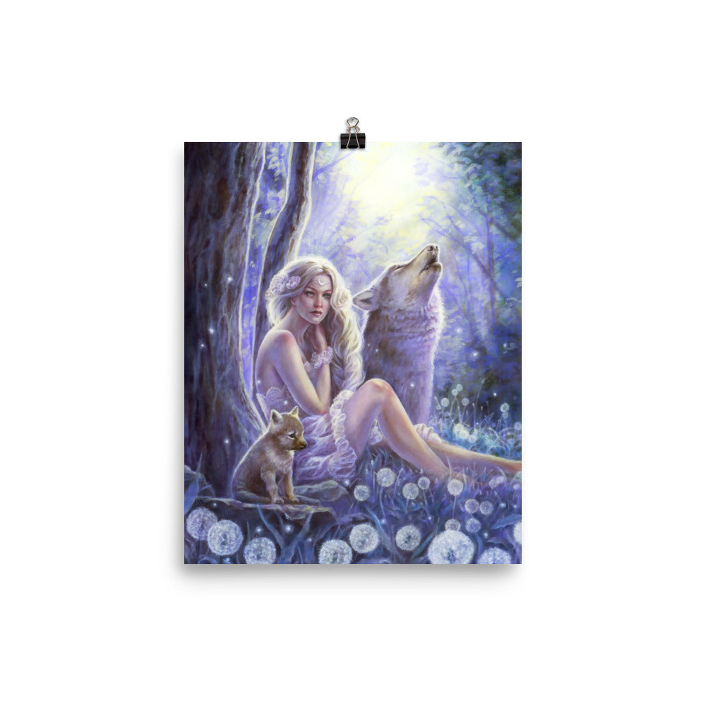 Art Print - Wolf Princess
