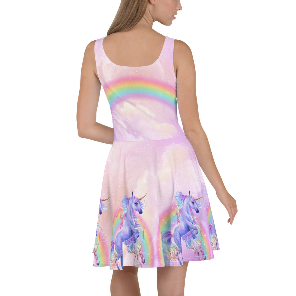 Rainbow Dreams Skater Dress