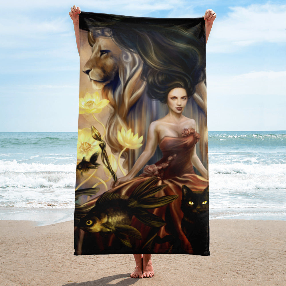 Towel - Queen of Wands Nautical