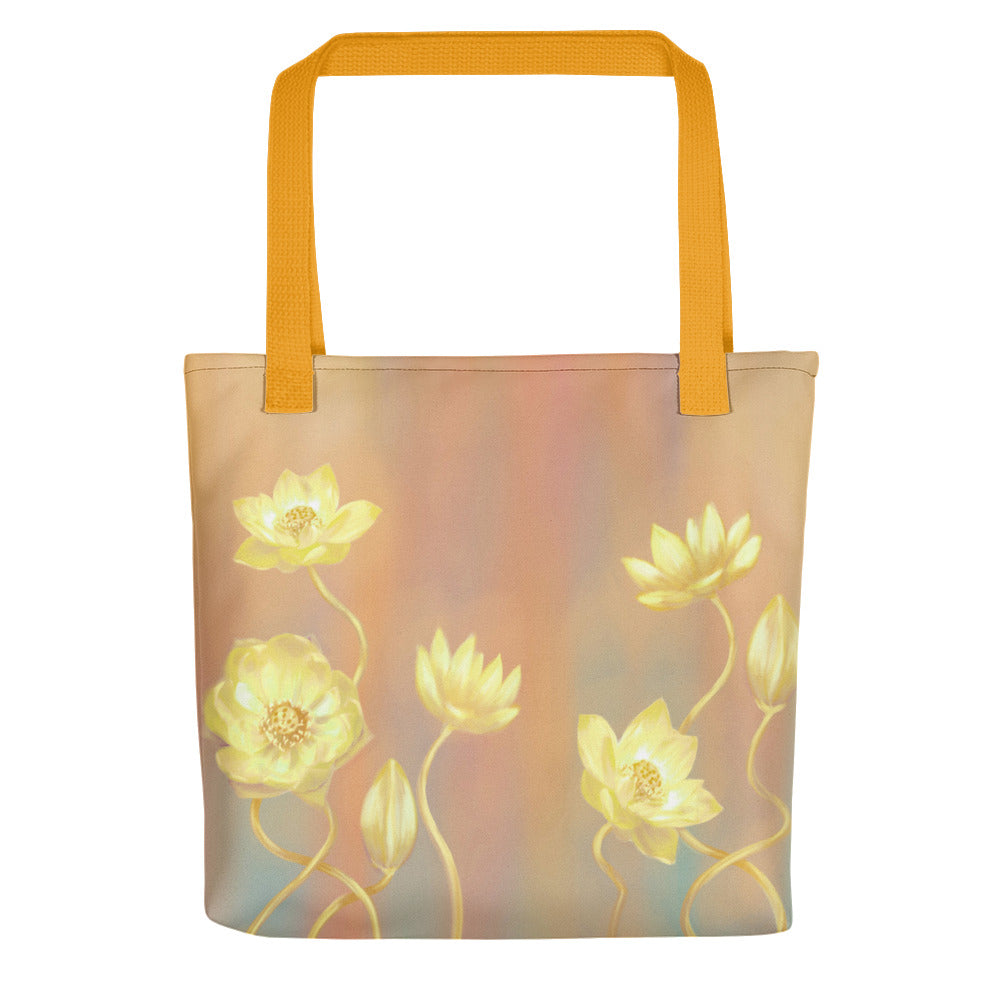 Tote bag - Gold Lotus