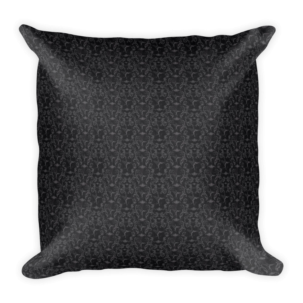 Square Pillow - Crows Key
