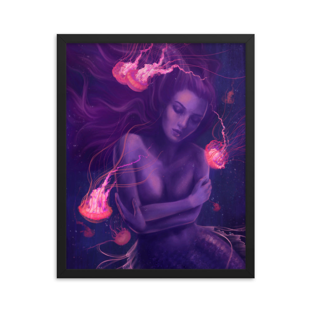 Framed Print - Glowing Dreams