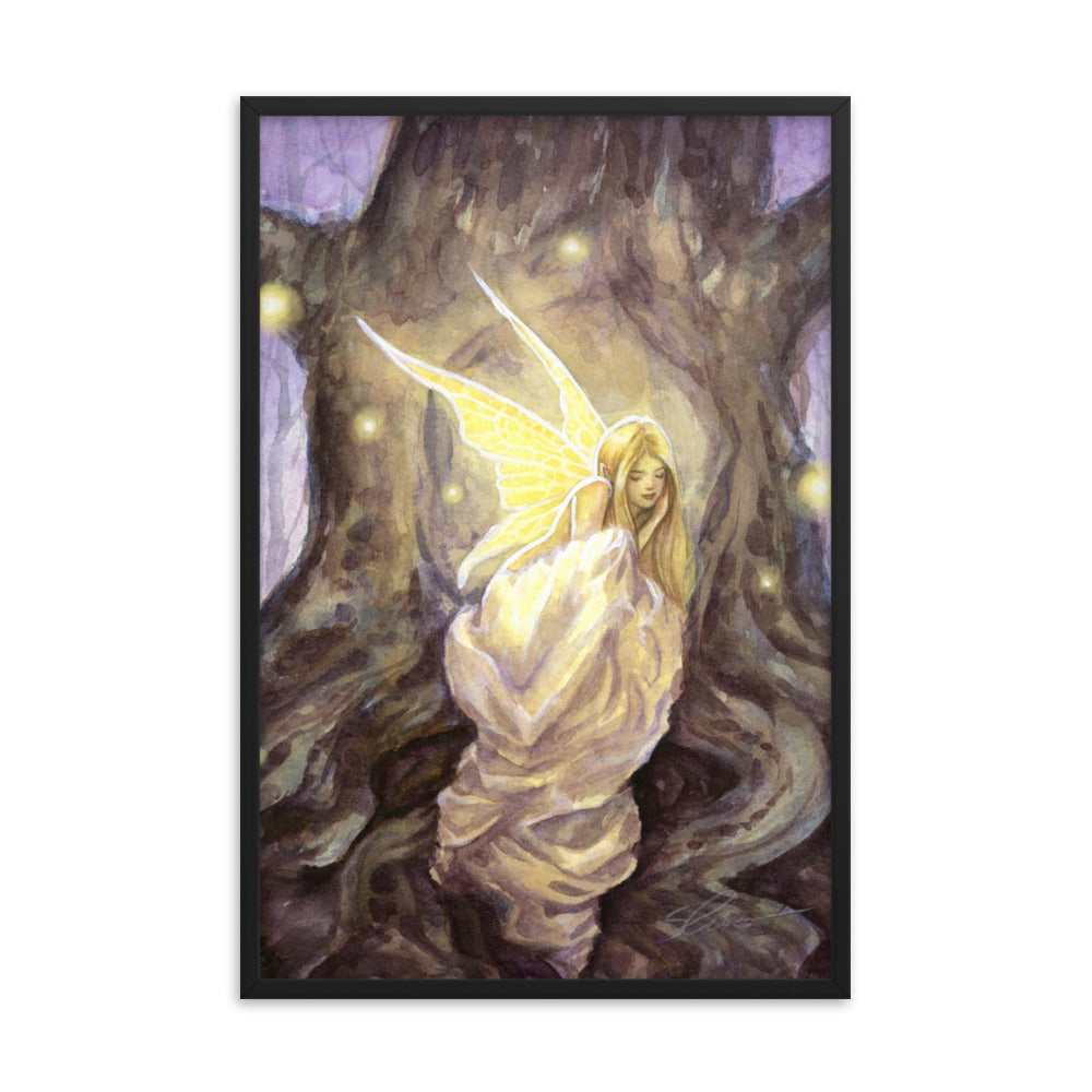 Framed Print - Hollow
