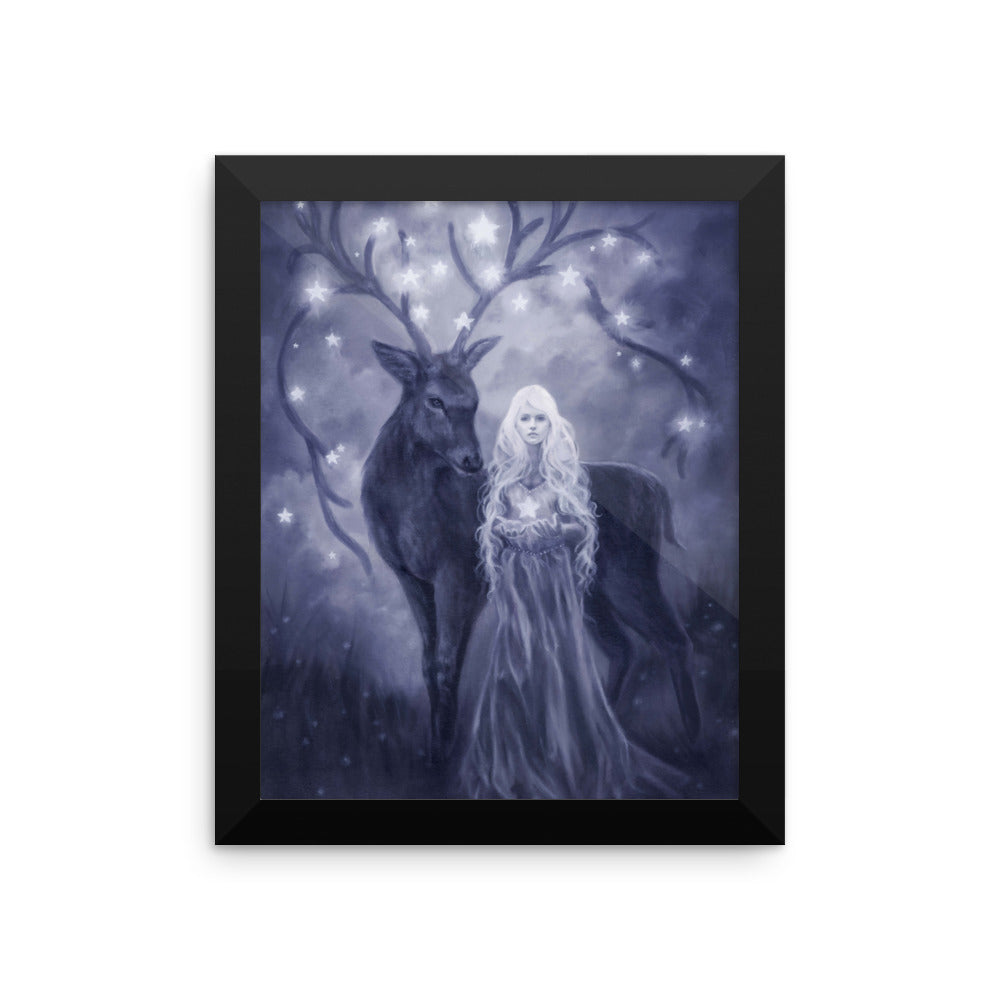 Framed Print - Gift of Starlight