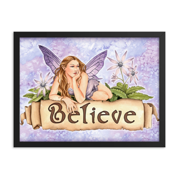Framed Print - Believe