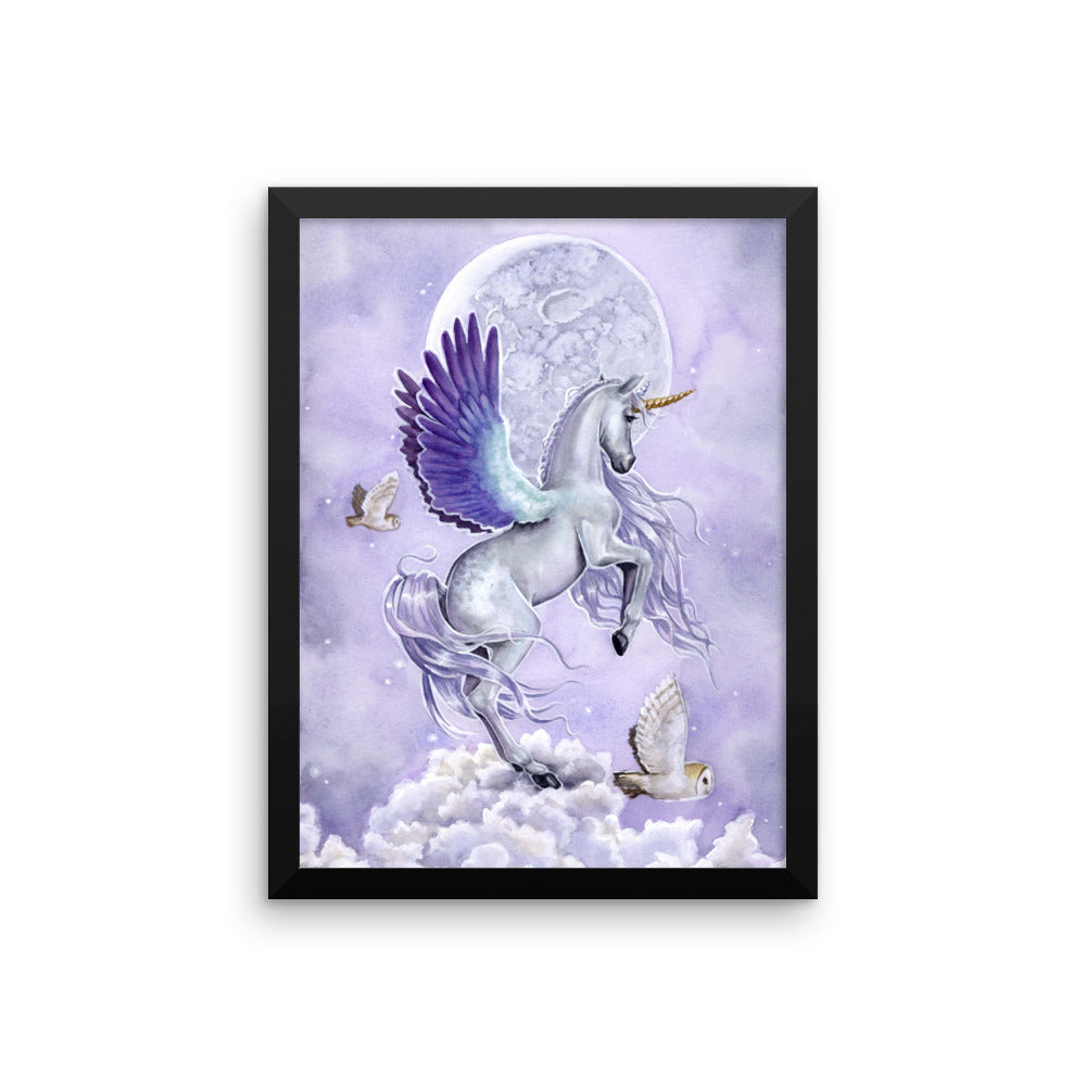 Framed Print - Unicorn Sisters Moonshine