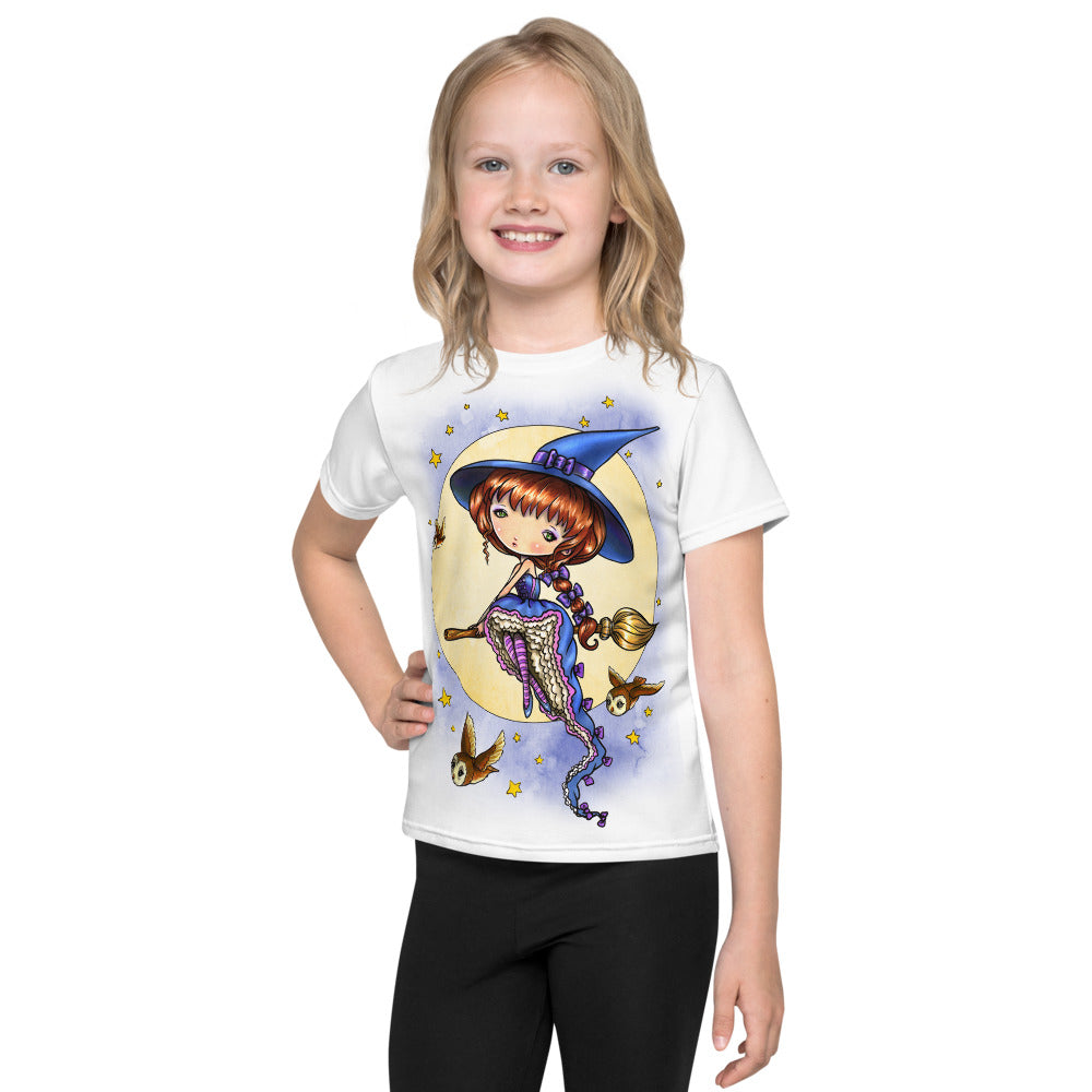Kids T-Shirt - Nice Night for Flying