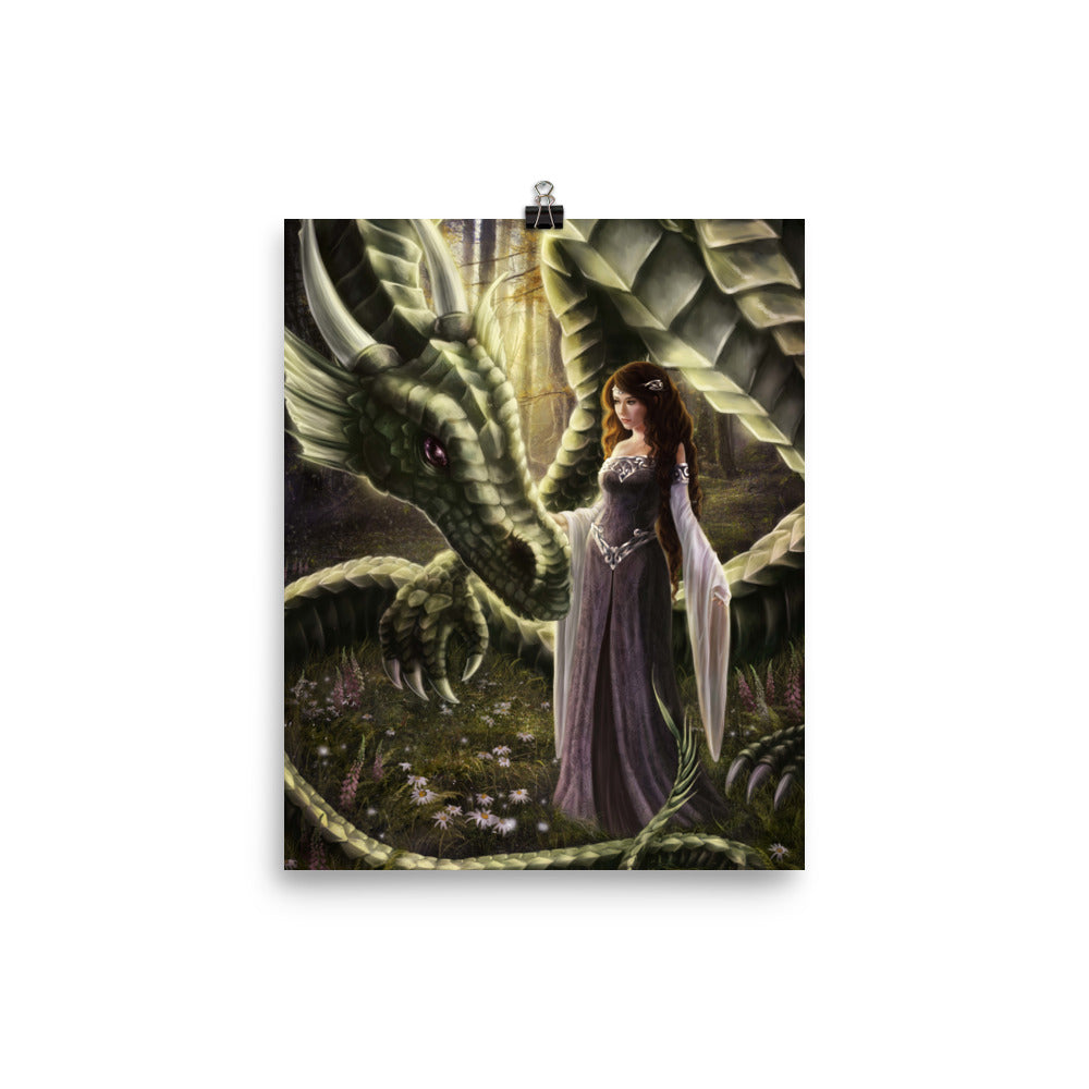 Art Print - To Meet a Dragon