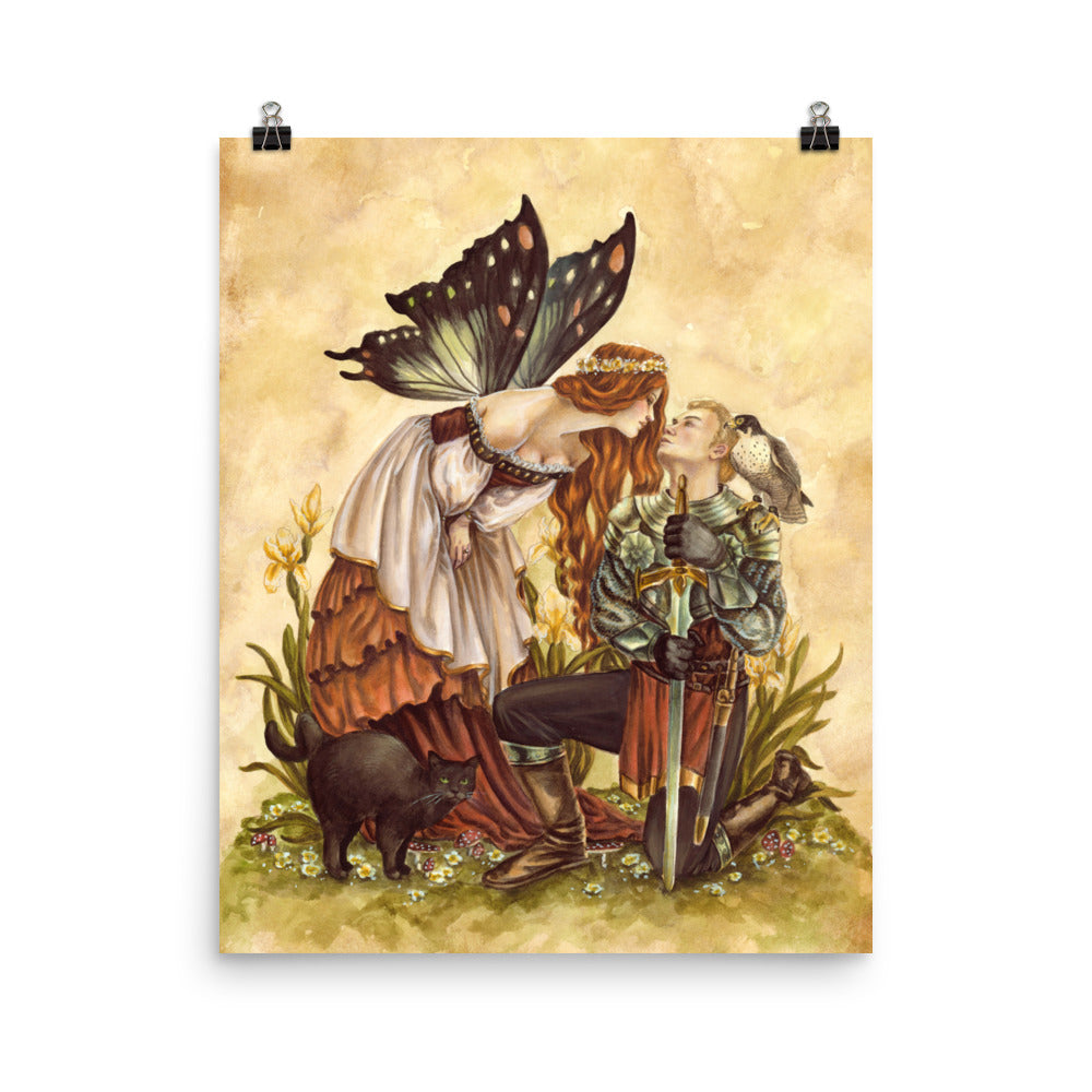 Art Print - Enchanted Kiss