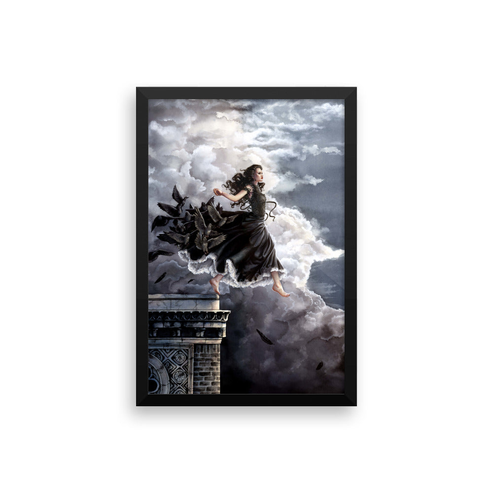 Framed Print - Catch Me