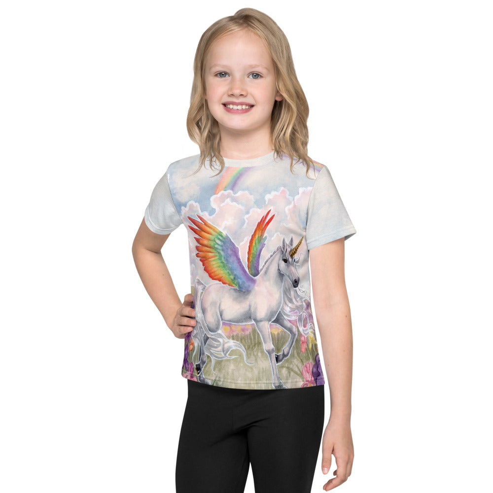 Kids T-Shirt - Rainbow Wings