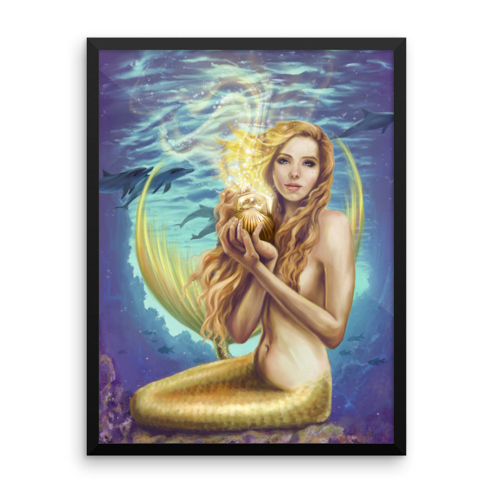 Framed Print - Holding Magic