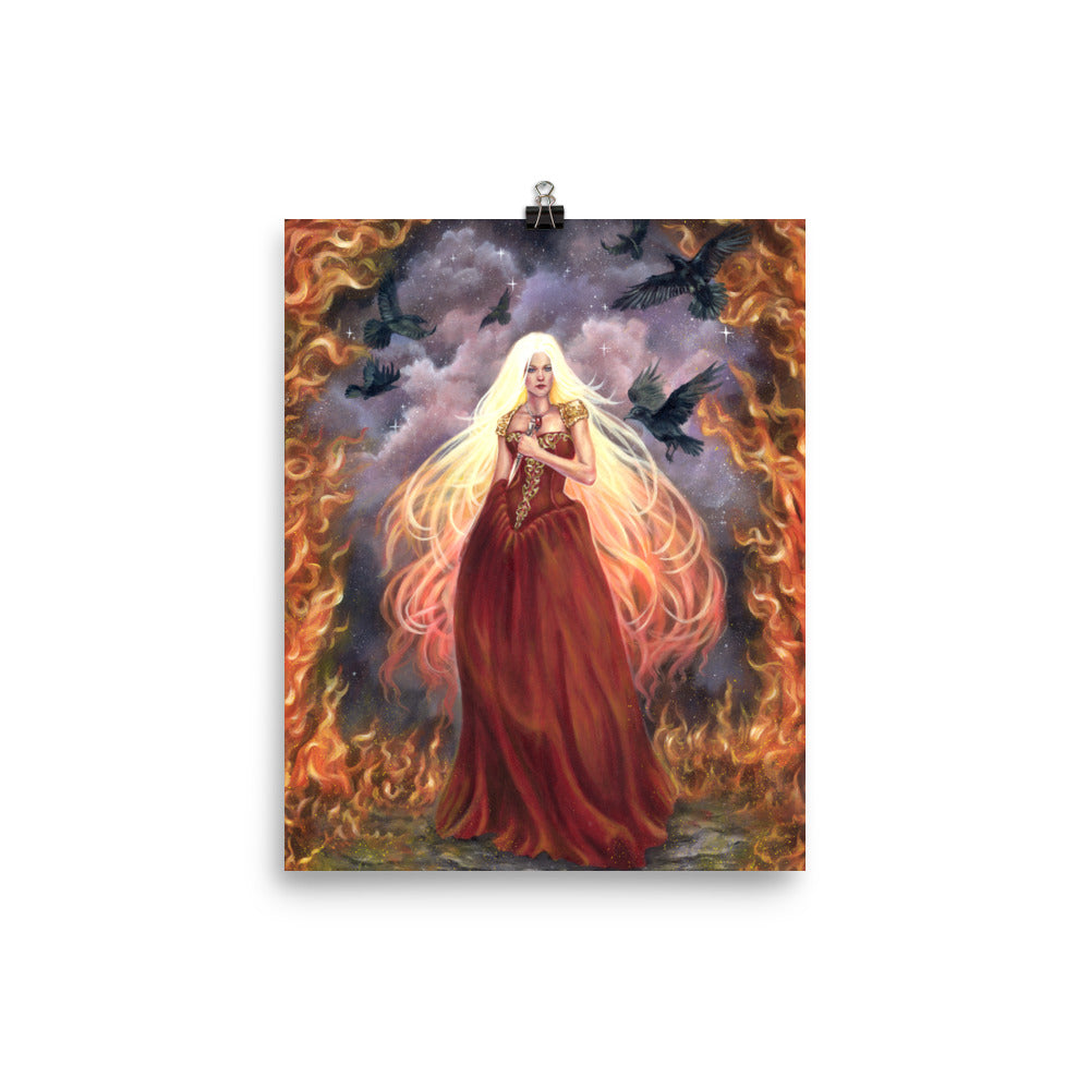Art Print - Lady of Fire