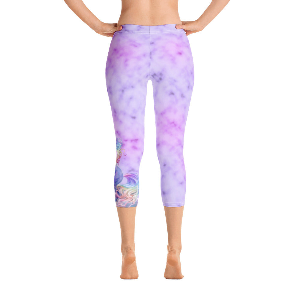 Capri Leggings - Rainbow Dreams