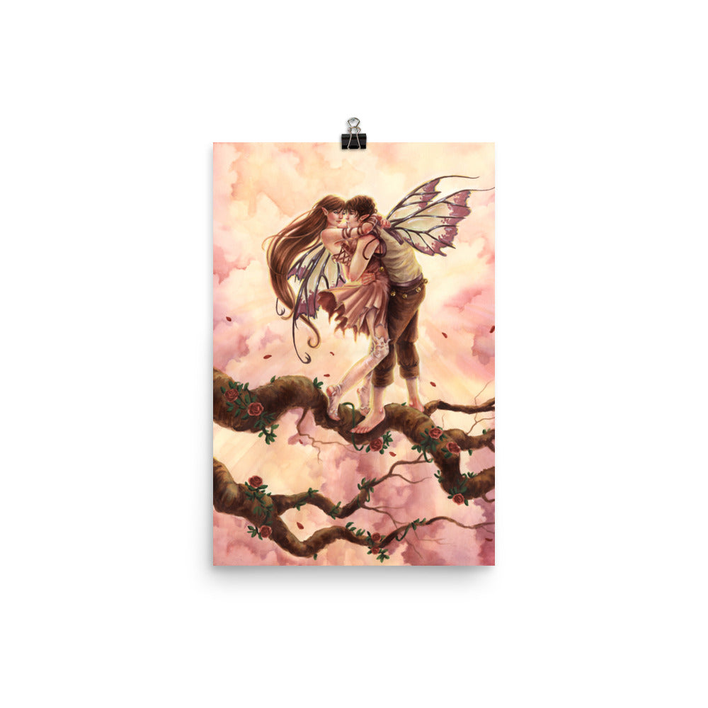 Art Print - Blossoming Love