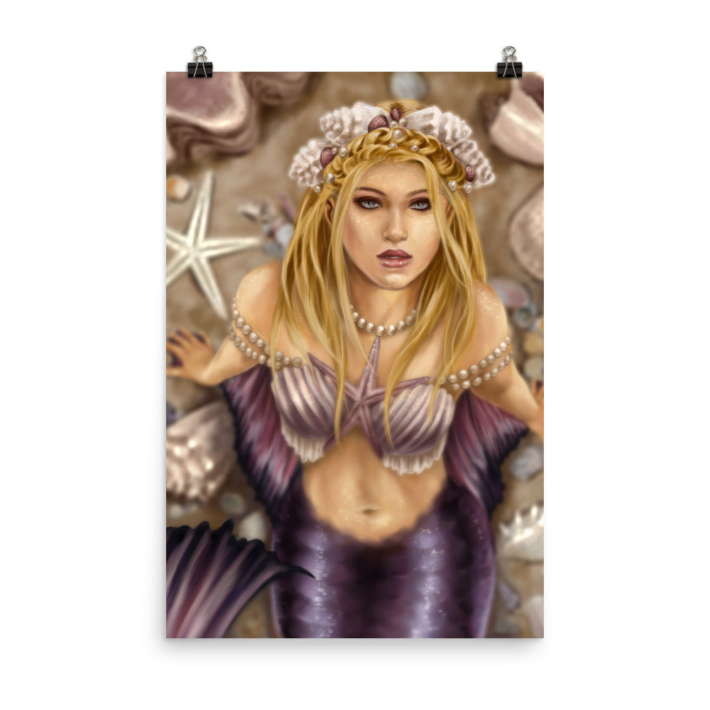 Art Print - Shell Princess