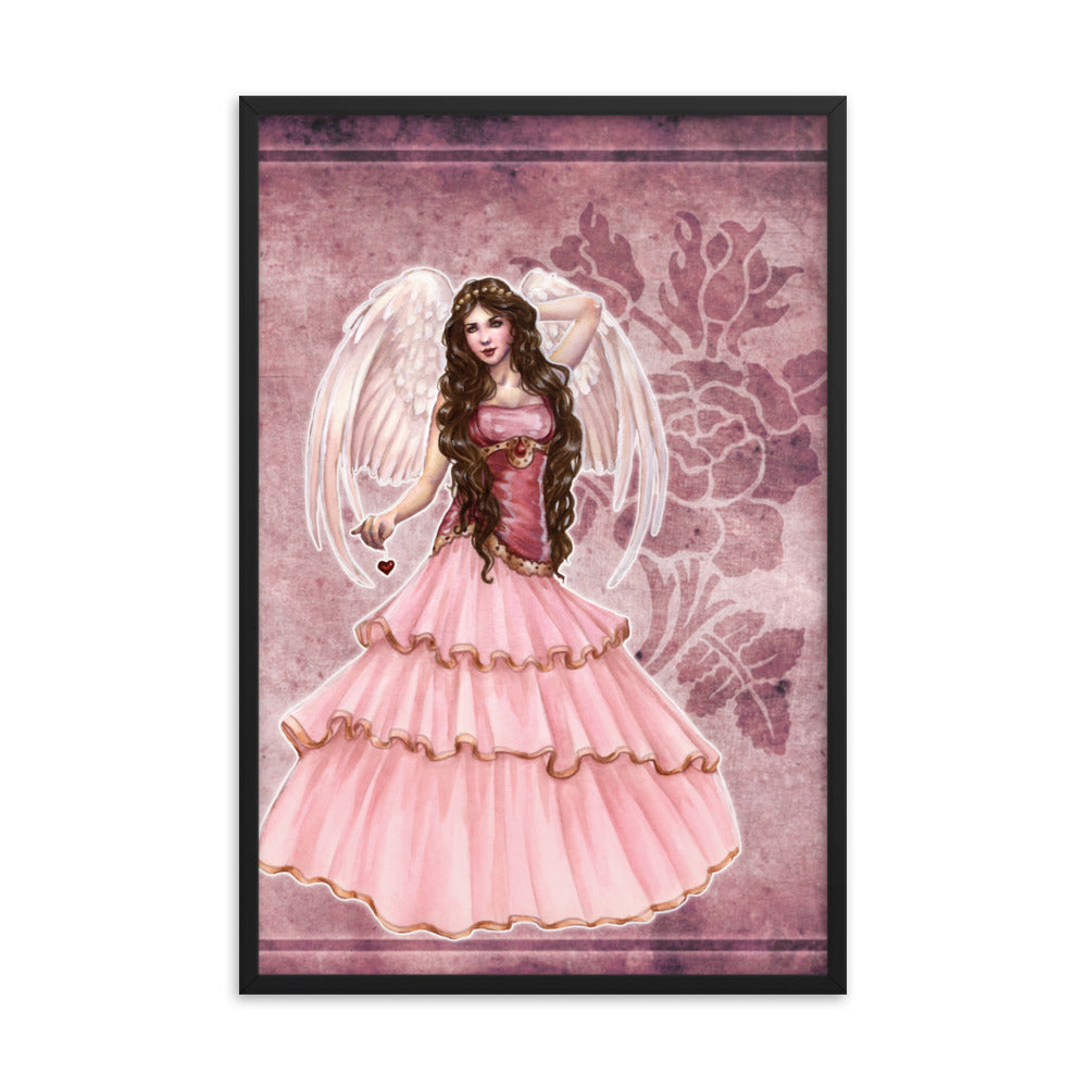 Framed Print - Choirs Angel Cherubina