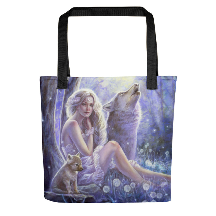 Tote bag - Wolf Princess