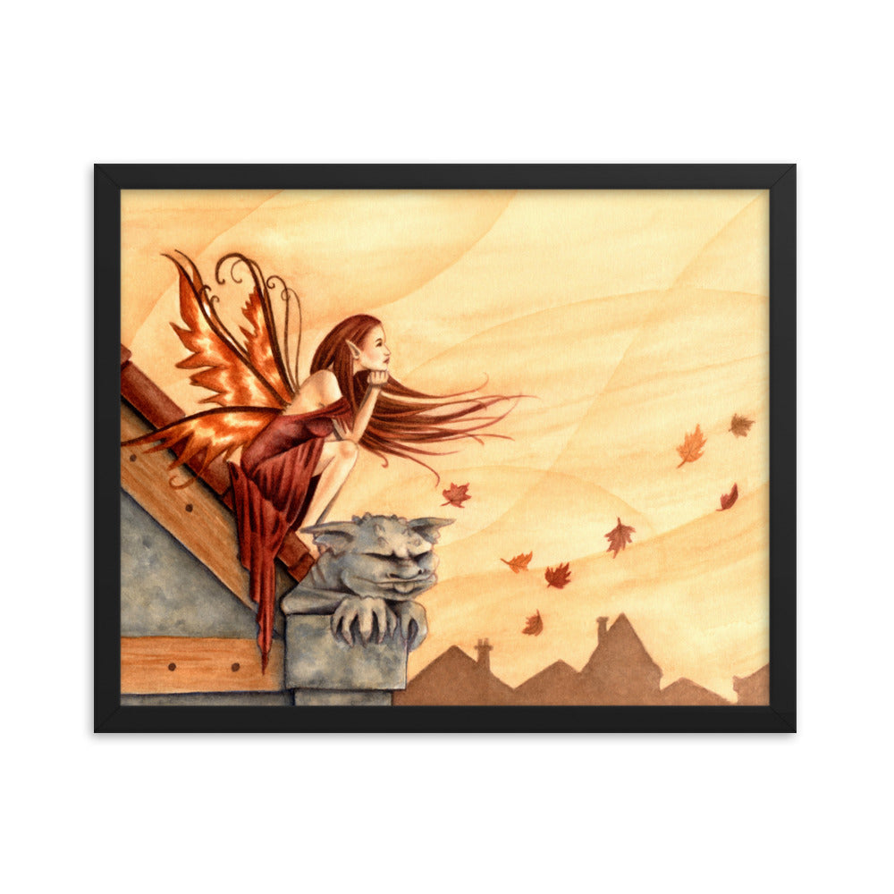 Framed Print - Autumn Winds