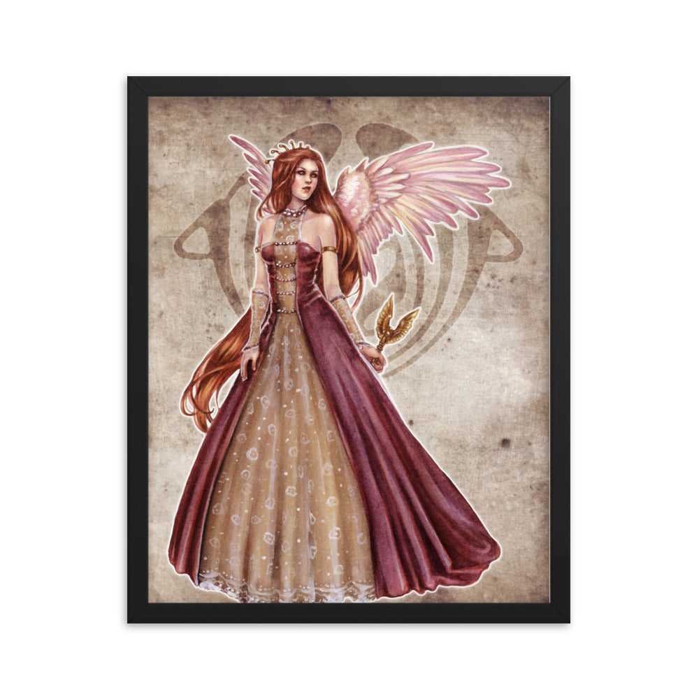 Framed Print - Choirs Angel Angelina