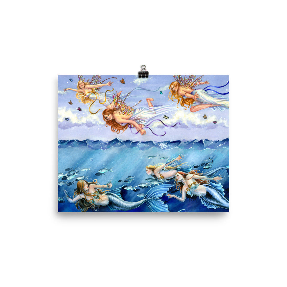 Art Print - Dark Waters Bright Skies
