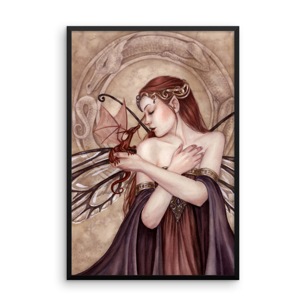Framed Print - Winged Things