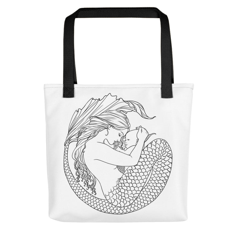Tote bag - Motherhood - colour your own