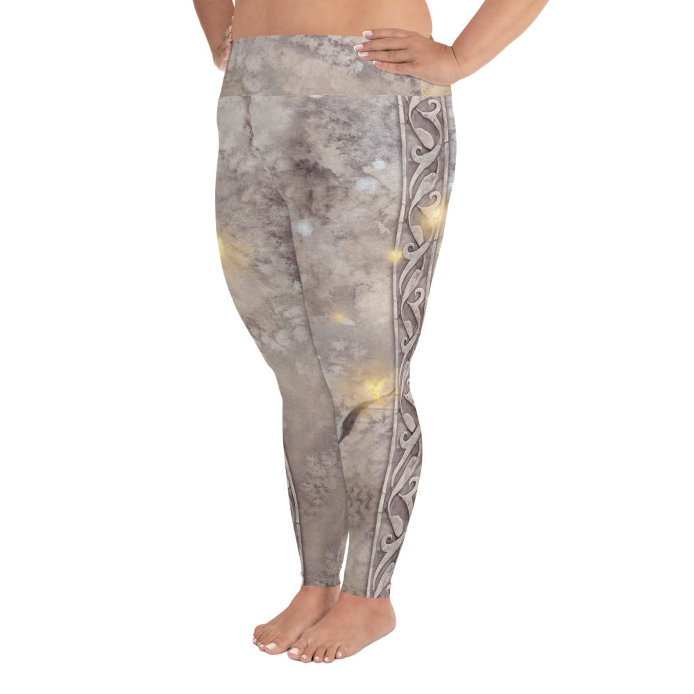Plus Size Leggings - Fairy Stone