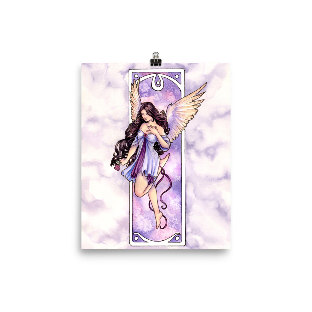 Art Print - Nouveau Angel of Hope