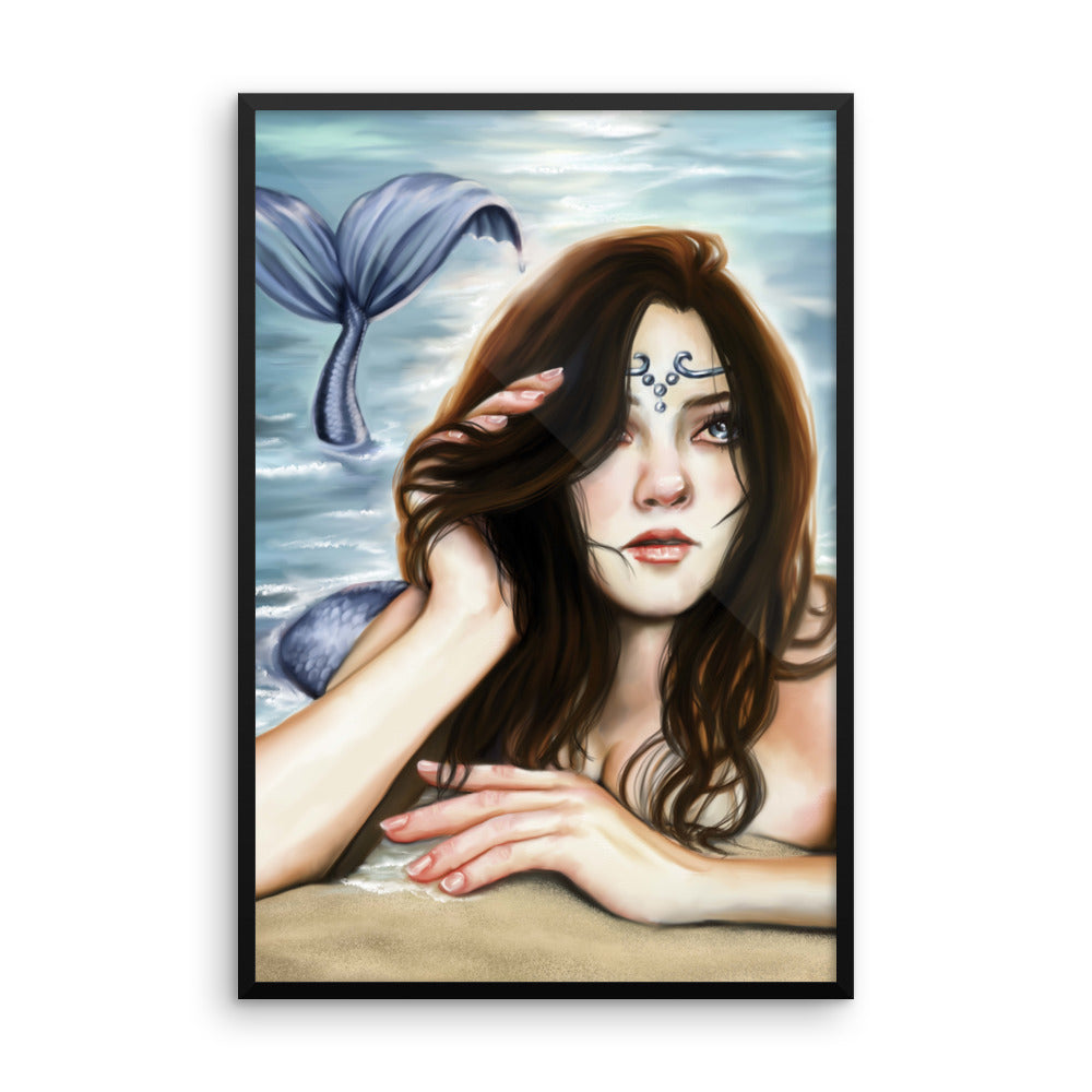 Framed Print - Mermaid's Lament