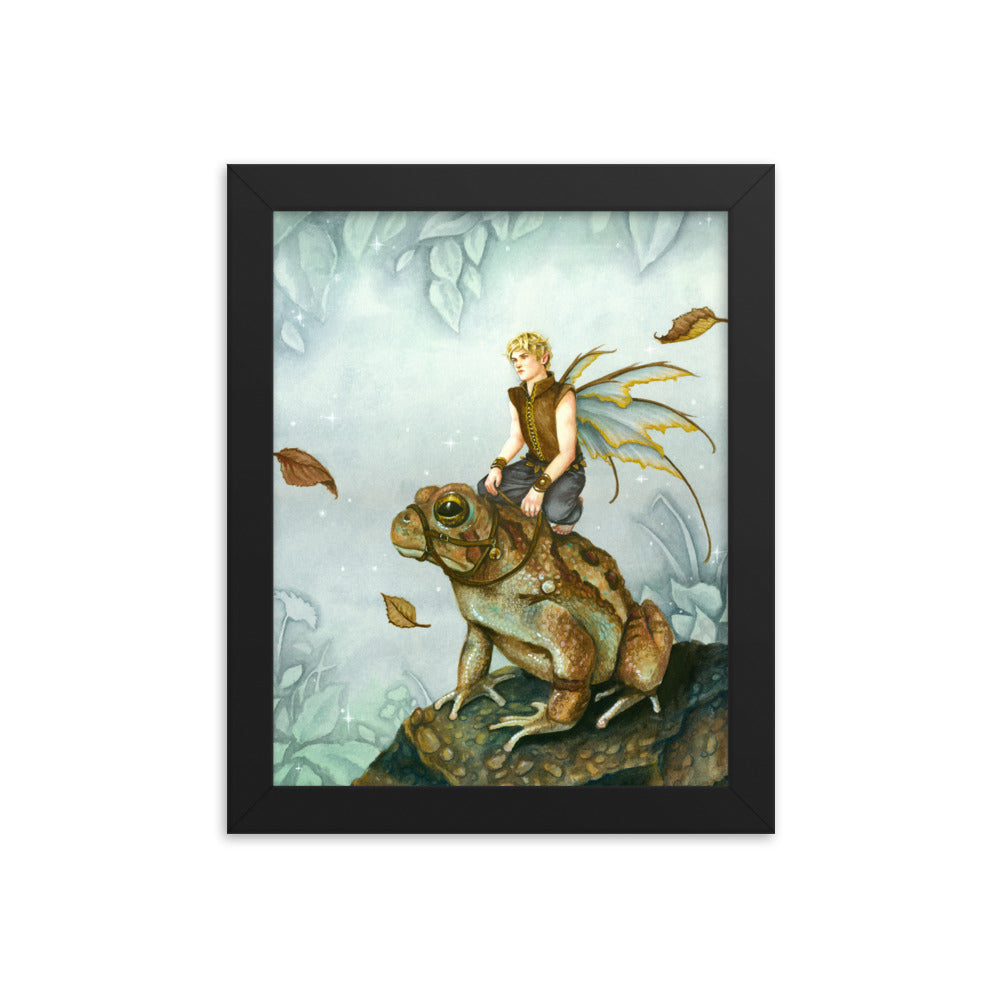Framed Print - Barnabus and the Prince