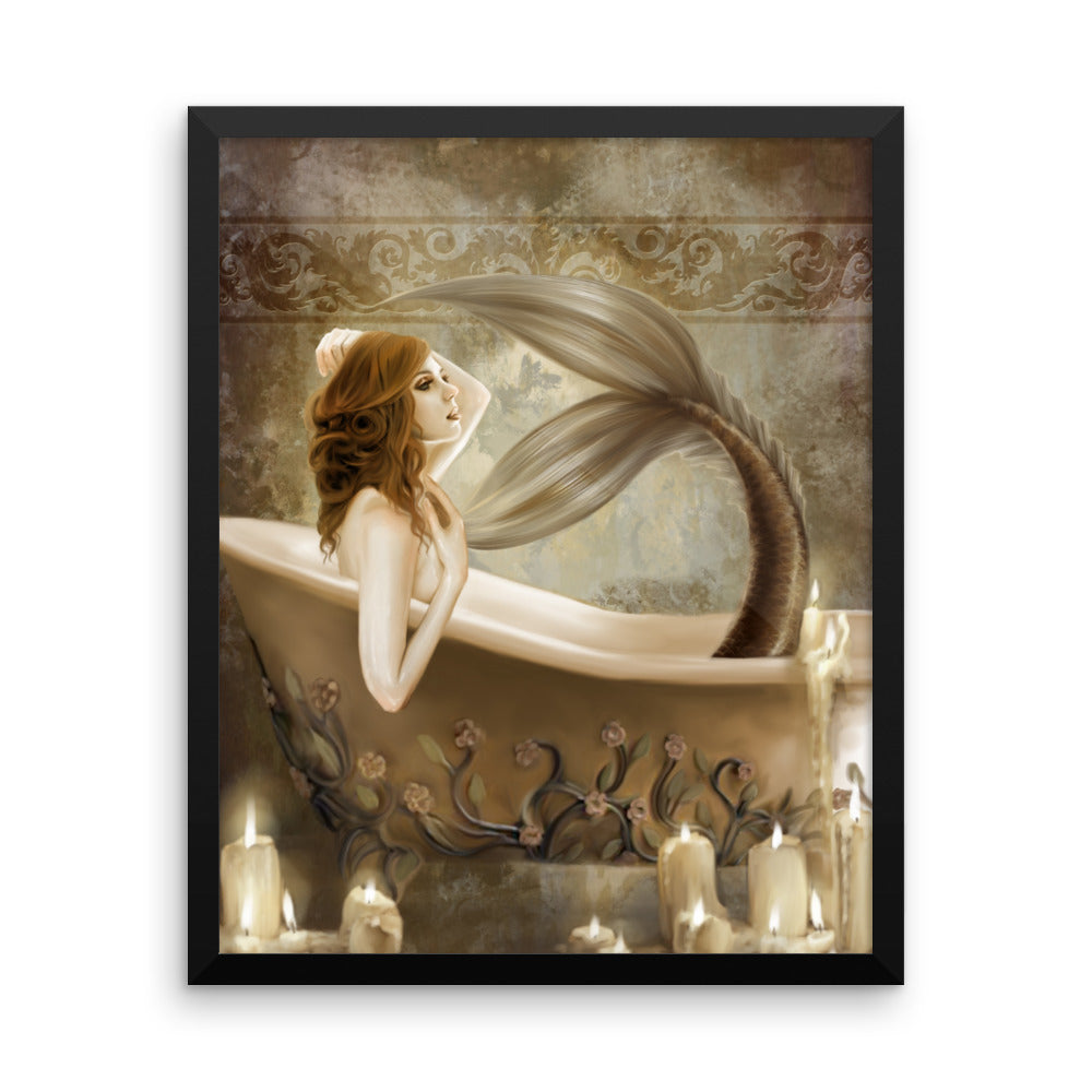 Framed Print - Bathtime