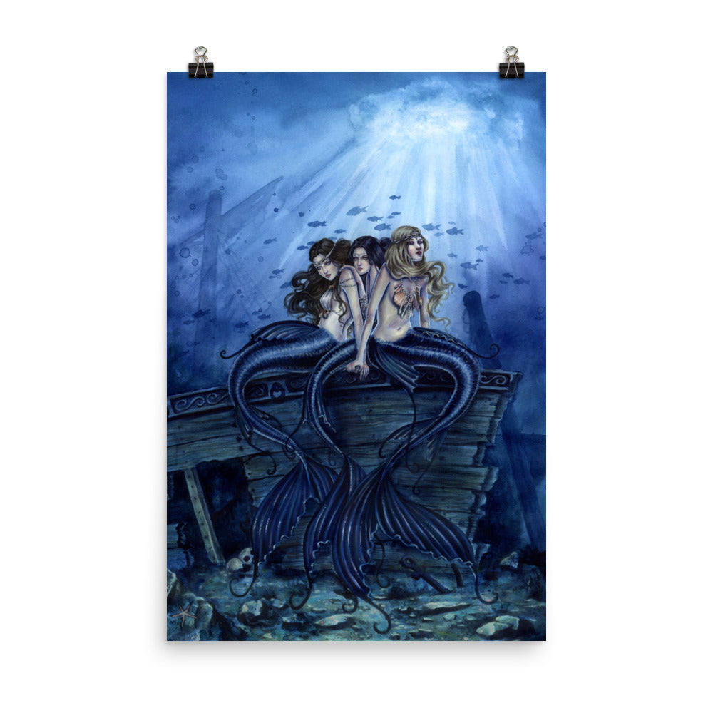 Art Print - Sisters of the Sea