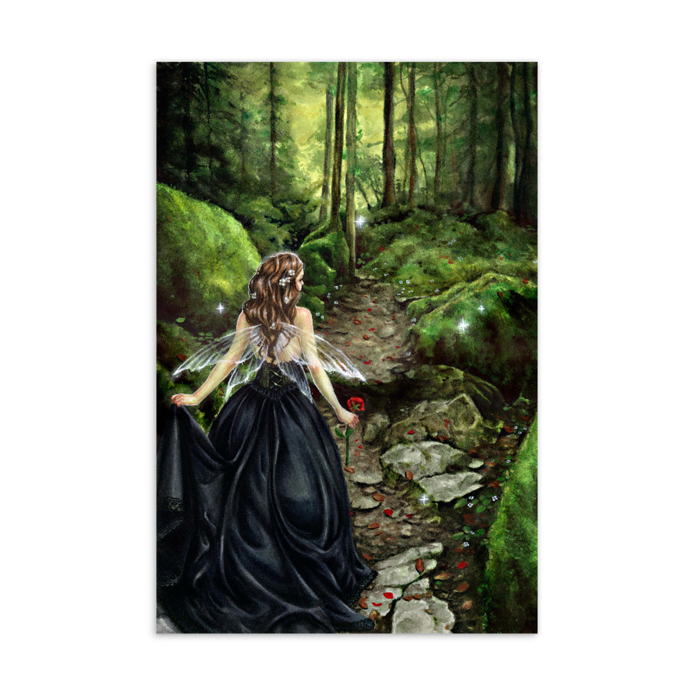 Art Card - Along the Forest Path