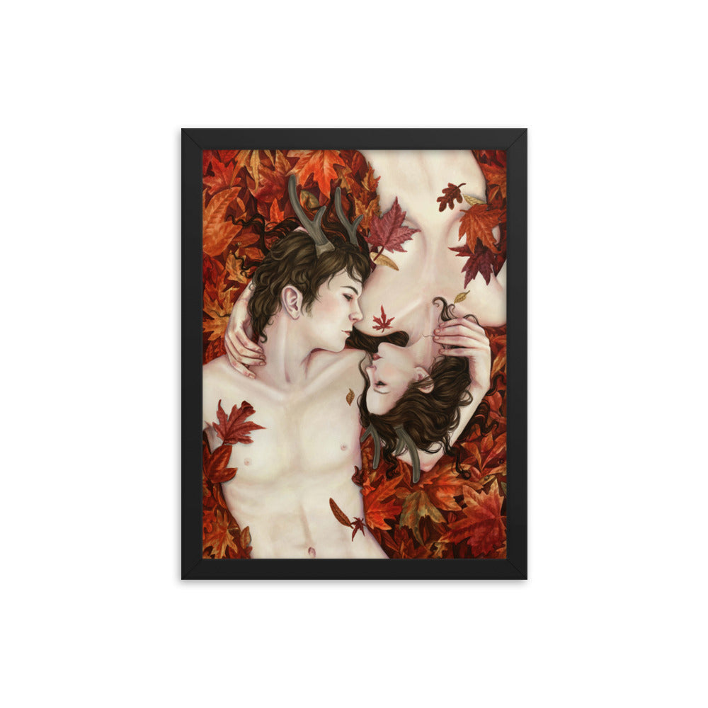 Framed Print - His Goddess, Her God