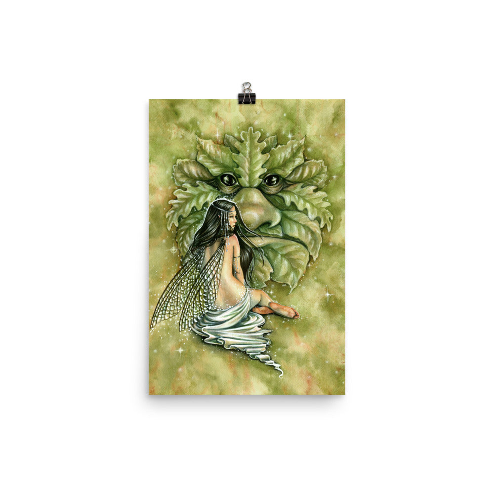 Art Print - Greenman's Bride
